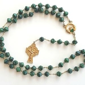 Vintage Ireland Rosary Beads